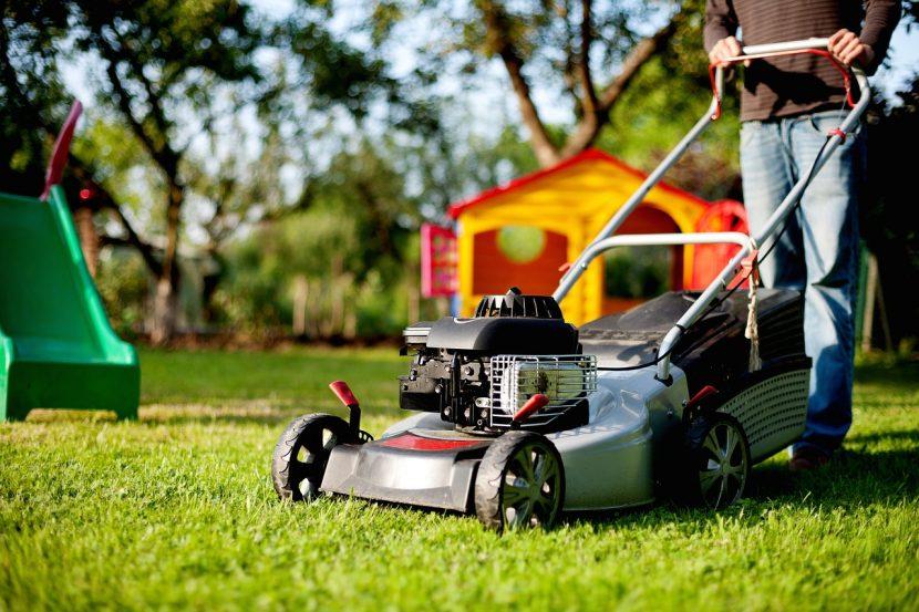 mesin potong rumput